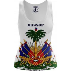 DÉBARDEURS HAITI BLANC MASSOP