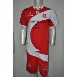 MAILLOT DE FOOT ROUGE BANC MASSOP