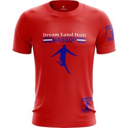 T-SHIRT MASSOP HAITI ROUGE...