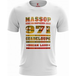 T-SHIRT GUADELOUPE MANCHES COURTES HOMME MASSOP