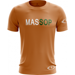 T-SHIRT MANCHES COURTES HOMME ORANGE MASSOP