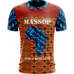 T-SHIRT AFRICA HOME LAND...