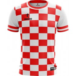 MAILLOT DE FOOTBALL MASSOP ROUGE BLANC