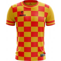 MAILLOT DE FOOT MASSOP JAUNE ROUGE