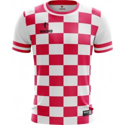 MAILLOT DE FOOT MASSOP ROSE BLANC