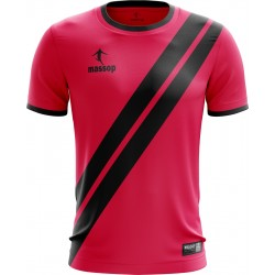 MAILLOT DE FOOT MASSOP ROSE NOIR